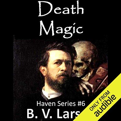 Death Magic audiobook cover art