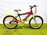 Bicicleta infantil Cinzia Skipper 20 negro rojo sin cambio