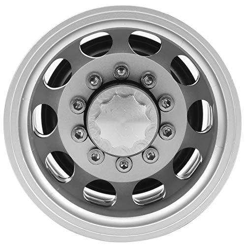 SALALIS Cubo de llanta de Rueda Cubo de llanta de Rueda de 10 radios a Prueba de Golpes para 1:14 Piezas de automóvil RC con Estructura Fina(Rear Wheel hub)