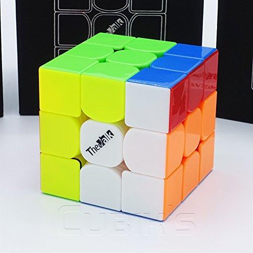 *The VALK 3* - QiYi 3X3 Profesional & Competencia Cubo de Velocidad Magic Cube Rompecabezas 3D Puzzle - STICKERLESS