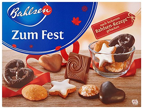 Bahlsen Knusper Mischung crunchy mix contains various shortbread cookies 250g Made in Germany