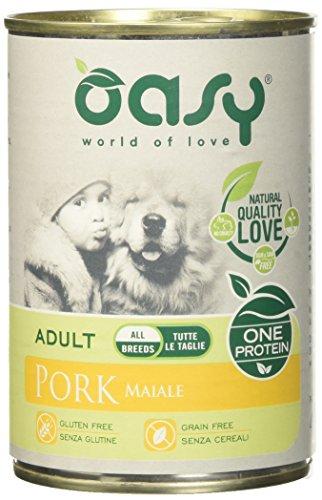 Oasy Wet Dog One - Maiale Lattina Gr 400