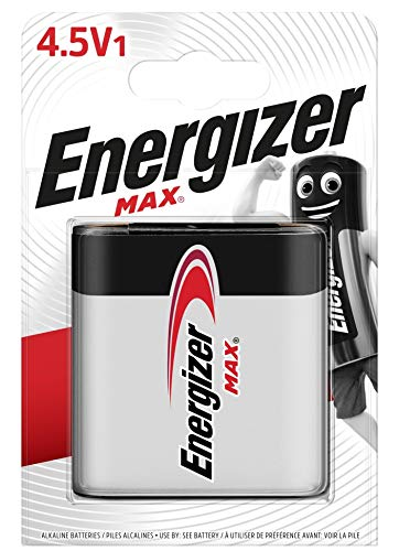 ENERGIZER PILAS ALKALINE MAX ALKALINE 4.5V / 3LR12 BP1 BR