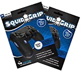 SquidGrip Controller Grips for Sony PS4 - 2 Pack for 2 Controllers (Controllers NOT Included) [playstation_4]