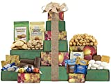 Wine Country Gift Baskets Ghirardelli, Godiva Chocolate & More Gift Tower Perfect for Family Gifts, Corporate Gifts, Token Of Appreciation Gift (619)