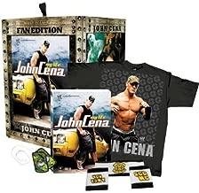 John Cena: My Life (Ultimate Fan Edition) with John Cena DVD, Dog Tags, Wristbands and T-Shirt