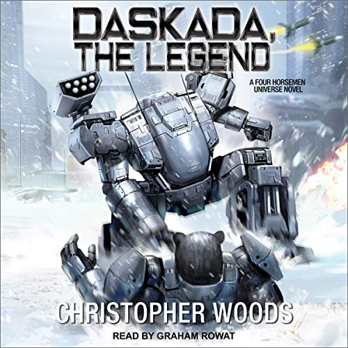 Daskada, the Legend Audiobook By Christopher Woods cover art