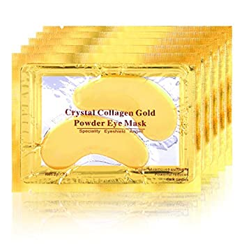POSTA Gold Eye Mask 20 Pairs Eye Treatment Mask With Collagen Under Eye Mask Treatment for Puffy Eyes Dark Circles Corrector Used for Eye Bags Anti Aging Patches Luxury Gift for Women and Men