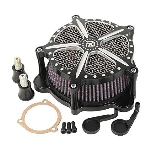 Motorrad geändert einzigartige Luftfilter Luftfilter für Harley Dyna Softail Fatboy Road King Electra Glide Touring