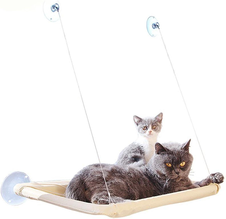 MONFS HOME Pet Bolster Dog Bed Comfort Pet TV sucker Cat hammock sucker type hanging nest window mat Pet Supplies