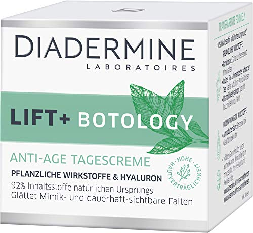 DIADERMINE Lift+ Botology Tagespflege Anti-Age Tagescreme, 3er Pack (3 x 50 ml)