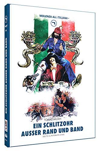 Ein Schlitzohr außer Rand & Band - Mediabook - Cover C - Limited Edition auf 150 Stück - Violenza All' Italiana Blaue Edition N