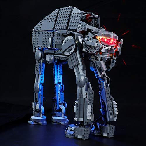 Kit de Iluminación LED para Lego 75189, Kit de Luces Compatible con Lego Star Wars First Order Assault Walker (No Incluye Modelo Lego)