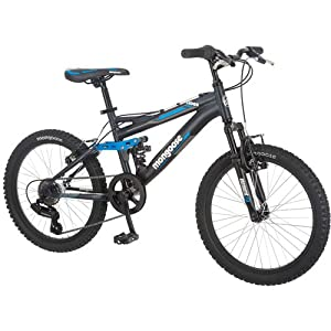 "20"" Mongoose Ledge 2.1 Boys' Mountain Bike -"