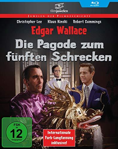 Die Pagode zum fünften Schrecken (Edgar Wallace) (Filmjuwelen) [Blu-ray]