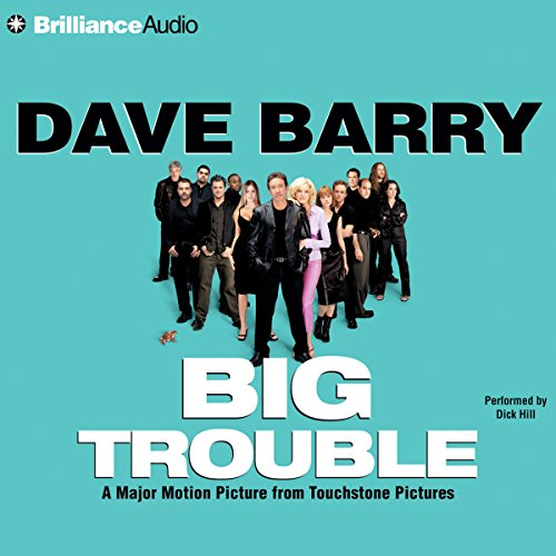 Big Trouble audiobook cover art