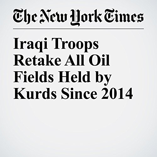 Iraqi Troops Retake All Oil Fields Held by Kurds Since 2014 copertina