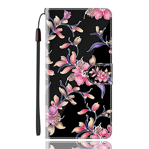 Sinyunron Klapptasche für Handy DOOGEE X6 Pro Hülle Leder Handytasche Handyhülle Brieftasche Hüllen Hülle mit Kartenfach & Ständer/Hülle02A