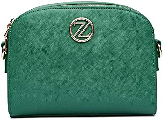 Zeneve London Crossbody Bag For Women-218313-Green