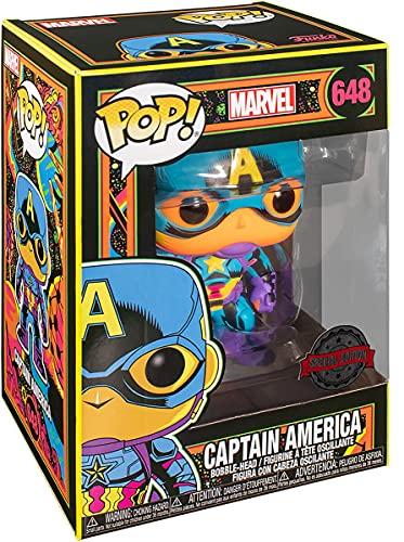 Funko Pop Marvel Capitan America Marca Funko