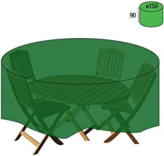 PAPILLON 8327030 Funda Cubre Mesa/Conjunto Diámetro 150x90 cm