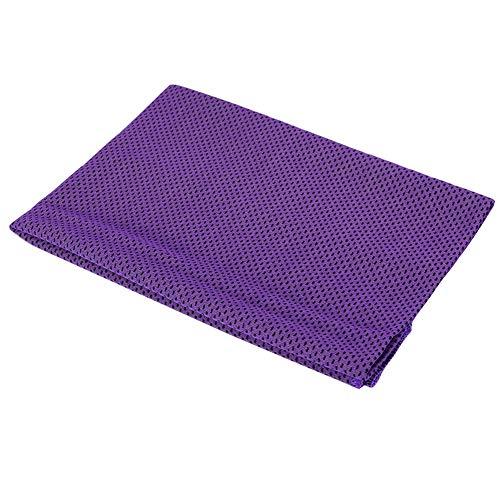 Wifehelper Koelende handdoek, superfijne vezel, instant Cold Cooling Chilly handdoek voor de hals onmiddellijke koeling super absorberende handdoek voor sporters training sport