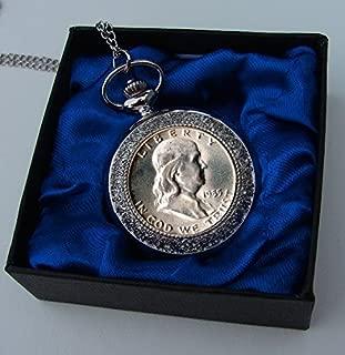 1948 Various Mint Marks Benjamin Franklin Half Dollar Pocket Watch 1948-1963 Half Dollar Various Grades