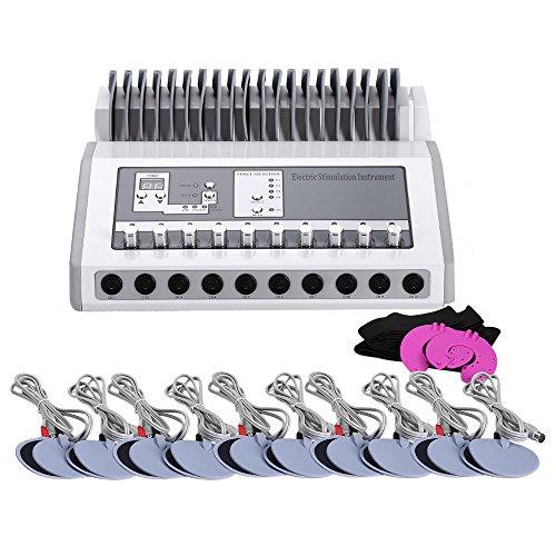 PAKASEPT Electroestimulador EMS Tens Masajeador Digital Meridian Maquina de Fisioterapia Dispositivo de Terapia Máquina de acupuntura electrónica Instrumento de electroterapia