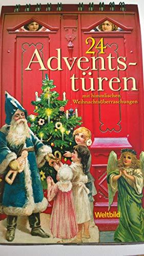 24 Adventstüren. Mit himmlischen Weihnachtsüberraschungen.