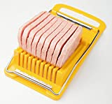 Hinomaru Collection Convenient Kitchen Luncheon Meat Spam Cheese Slicer Quality Stainless Steel Wire Slicer BPA Free Made in Japan