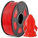 Filamento PLA+ 1.75mm, JAYO PLA Plus Filamento de Impresora 3D, tolerancia de diámetro +/- 0,02 mm, 1kg Spool, PLA+ Rojo