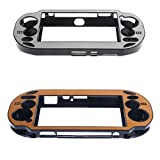 F Fityle 2pack Protective Case Cover Skin For Sony PlayStation Vita 1000 Controller