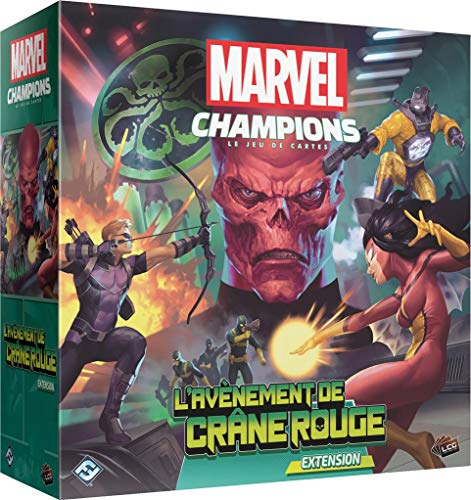 Asmodée Marvel Champions - El advenimiento de calavera roja – Versión francesa