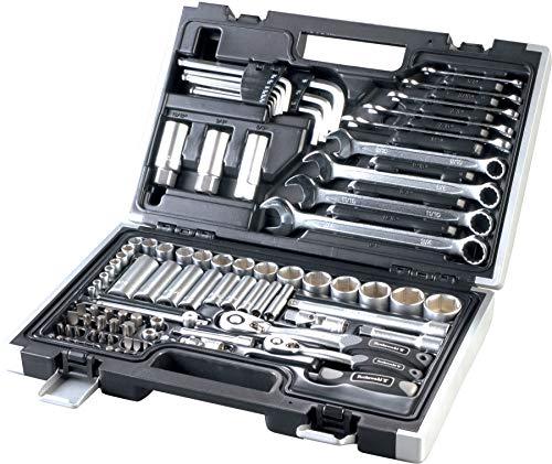Caja de llaves de pulgada, 92 piezas, herramientas Harley Davidson Sportster Dyna Softail