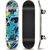 Outify Skateboard für Anfänger Mädchen Jungen, 31 Zoll...