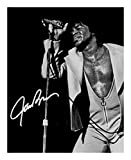 James Brown Autogramme Signiert 21cm x 29.7cm Foto Plakat
