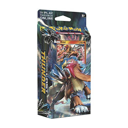 small Pokémon TCG: Sun and Moon 8 Lost Thunder Antaeus Theme Deck