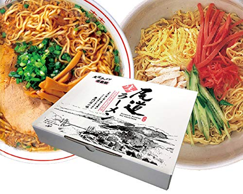 壱番館 尾道ラーメン5食 ピリ辛 冷麺5食 10食セット