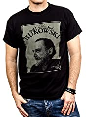 MAKAYA Camisetas con Frases Originales - Chalres Bukowski