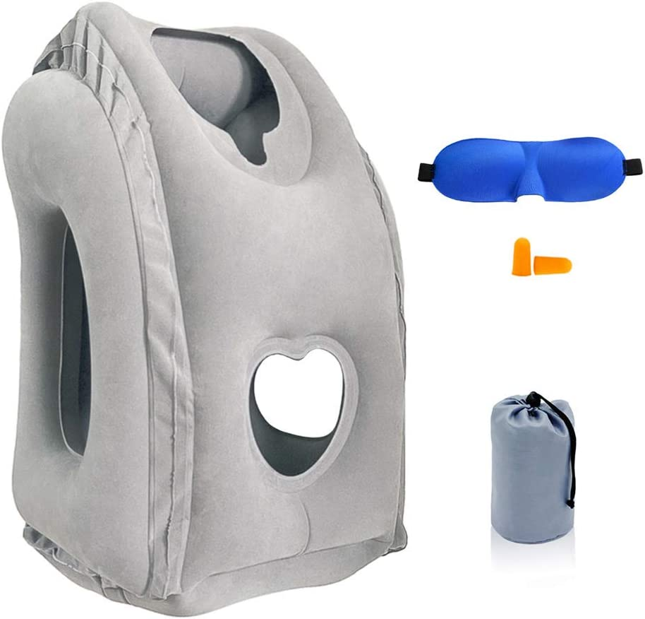 Inflatable Super sale period limited Travel Pillow SmartDer mart Airplane Patented with