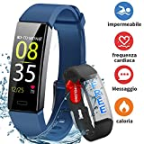 HOFIT Fitness Tracker,Orologio Braccialetto Smartwatch Activity Tracker Impermeabile...