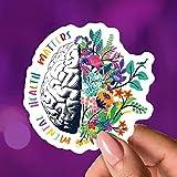 Mental Health Matters Vinyl Waterproof Sticker