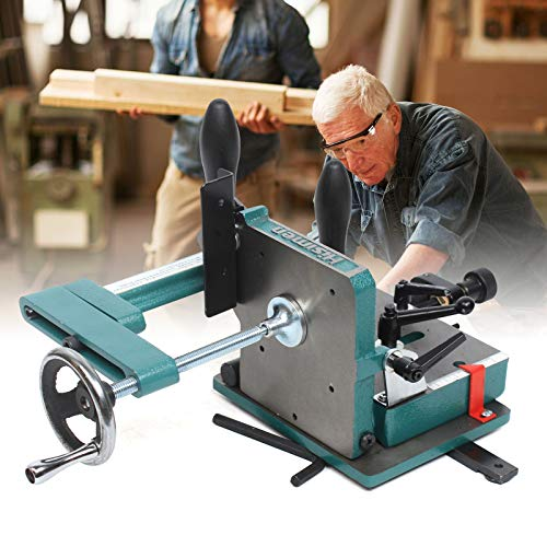 Gdrasuya10 Heavy-Duty Adjustable Tenoning Jig for Table Saw Cutting Tenons Woodworking Open Tenon Fixture Tool 3/4