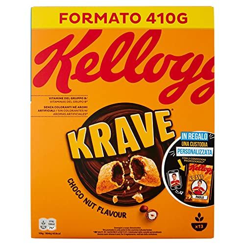 Kelloggs Krave Choco Nut, 410g