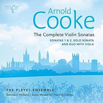 Cooke: The Complete Violin Sonatas