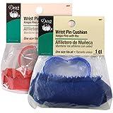 Dritz Wrist Pin Cushion, Blue, red