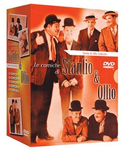 Stanlio & Ollio - Cofanetto Arancio Comiche (5 Dvd)