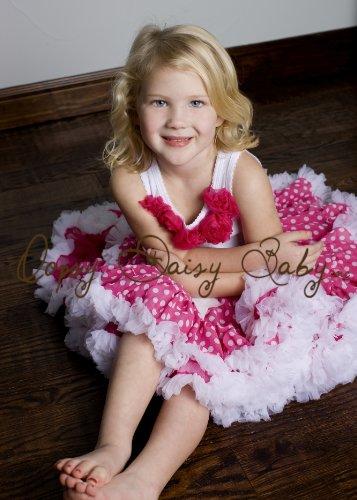 Oopsy Daisy Baby Raspberry Dot Pettiskirt 18 Months