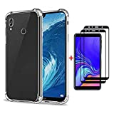 FHXD Compatible with Huawei Honor 8X Case Transparent TPU