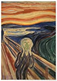 Panorama Poster Edvard Munch Der Schrei 21x30 cm - Gedruckt